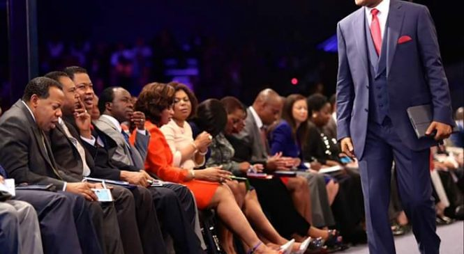 Pastor Chris Oyakhilome Leads Spritual Conference- Rhapsody