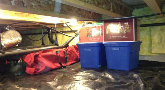 Increase Space For Storage And Crawl Space Condition With CleanSpace