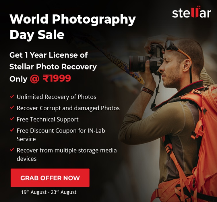 World Photography Day Sale